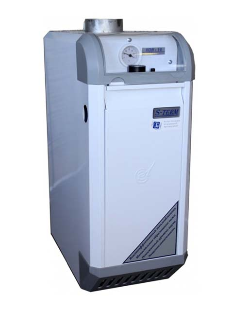 Купить Газовый котел напольный Сигнал КОВ-16 СКС, до 160 кв.м, автоматика SIT, пьезорозжиг, дымоход 100 мм в Челябинск