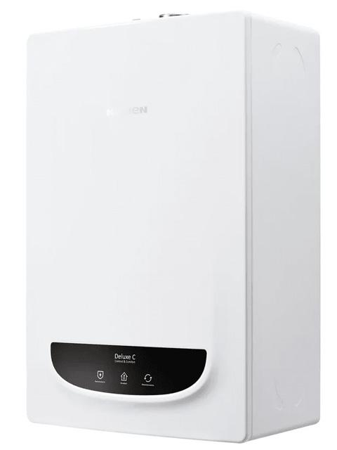 Газовый котел настенный Навьен Navien Deluxe-13k Comfort COAXIAL White, 13 кВт, закрытая камера, двухконтурный. Город Челябинск. Цена 27300 руб