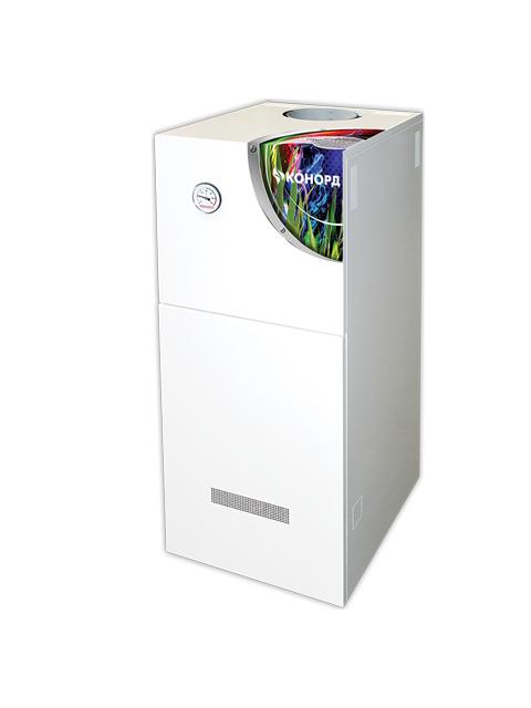 Купить Газовый напольный котел Конорд Ксц-Г-40S, до 400 кв.м, автоматика SIT, пьезорозжиг, дымоход 146 мм в Курган