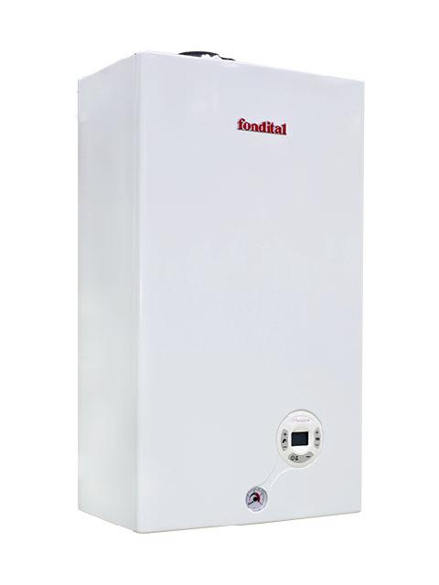 Купить Котел газовый настенный Fondital MINORCA CTFS24, 24 кВт, закрытая камера, двухконтурный, два теплообменника, Италия в Южноуральск