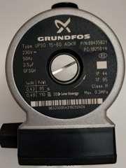 Купить Насос циркуляционный Grundfos UP 15-60 LUNA-3, LUNA-3 COMFORT, ECO Four, ECO-3  5661200 в Челябинск