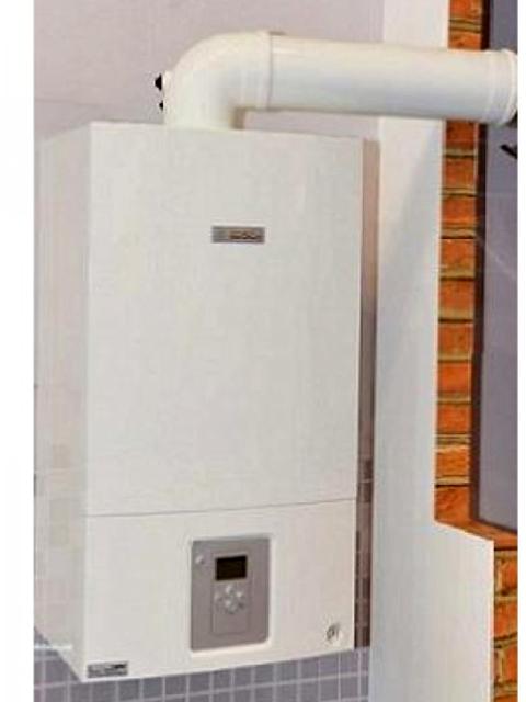 Газовый котел настенный БОШ BOSCH WBN6000-35C RN S5700, 35 кВт, закрытая камера, двухконтурный. Город Челябинск. Цена 46300 руб