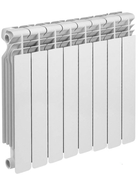 Купить Радиатор алюминиевый Rommer Optima 500 -8 секций в Костанай