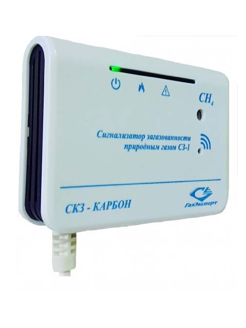Купить СЗ-1.2 – сигнализатор загазованности СН4 (природный газ, с двумя порогами срабатывания) – 10 / 20 % НКПР в Челябинск