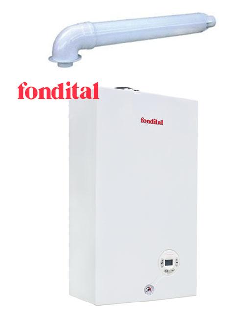 Купить Котел настенный газовый FONDITAL MINORCA 15 (Италия) + коаксиальный комплект дымохода в Челябинск