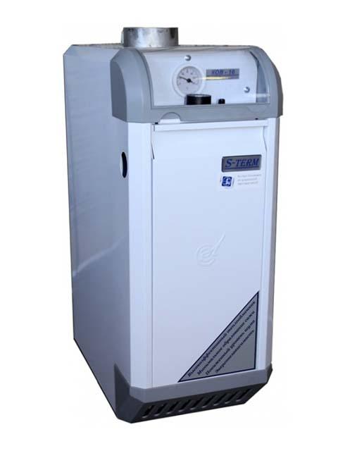 Купить Газовый котел напольный Сигнал КОВ-25 СКВС, до 250 кв.м, ГВС, автоматика SIT, пьезорозжиг, дымоход 130 мм в Курган