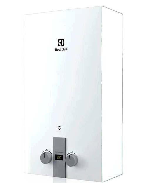 Купить Колонка газовая Electrolux GWH 10 NanoPlus 2.0, 20 кВт, 10 л/мин, дымоход 108 мм, вода/газ 1/2 дюйма в Челябинск