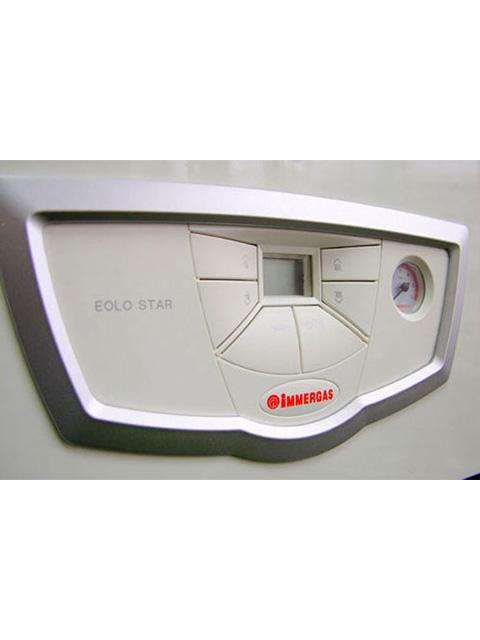 Котел газовый настенный IMMERGAS EOLO STAR 14 3 R, 14кВт, Италия, битермик, закрытая камера, двухконтурный. Город Челябинск. Цена по запросу