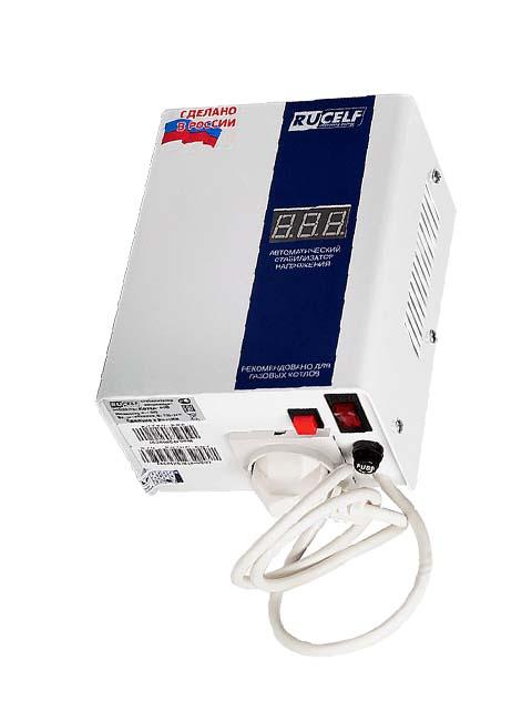 Купить Стабилизатор напряжения КОТЕЛ-1200, мощность 1200 Вт (2000 ВА), молниезащита, производство Россия в Челябинск