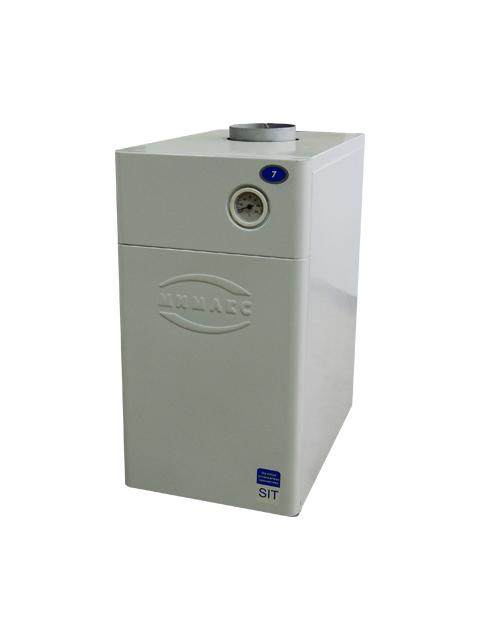 Купить Газовый напольный котел Мимакс КСГ-12.5, до 125 кв.м, автоматика АГУ-Т-М, ручной розжиг, дымоход 120 мм в Магнитогорск