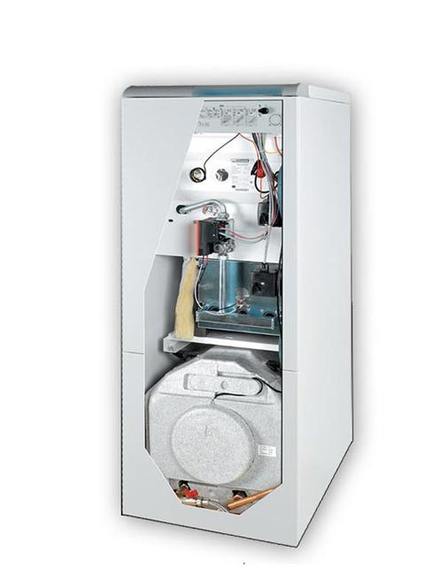 Купить Газовый котел напольный ПРОТЕРМ Медведь 50KLZ встроенный 90-литровый бойлер,электророзжиг, чугунный теплообменник в Челябинск